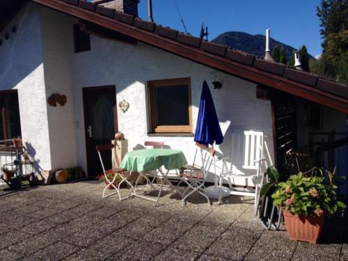 Eingang + Dachterrasse